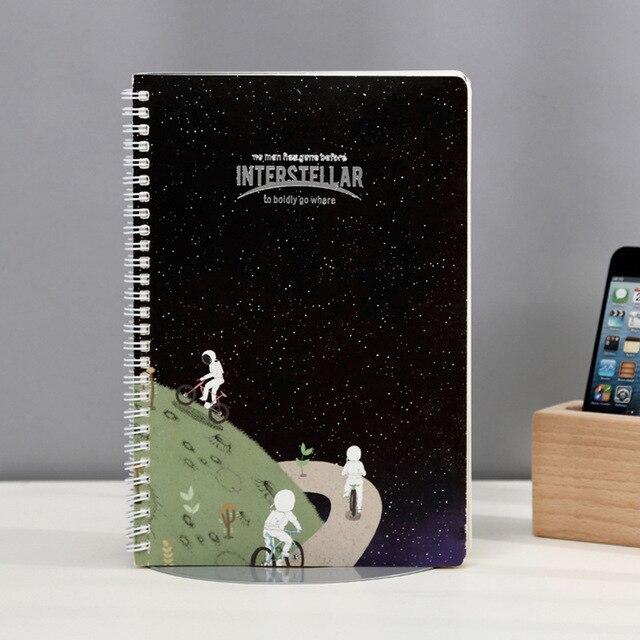 1pcs BZNVN Retro Stationery Star Trek Coil Ben (Cartoon) A5 Notebook  Notepad Creative Notebook