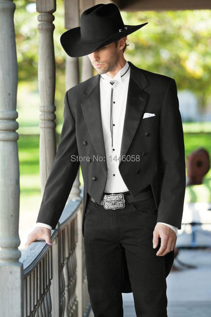 2017 New Brand Italian Tailcoat Dinner Mens Suits With Pants Tuxedos For Men Wedding Tuxedo Groom Suit Bridegroom Custom Made