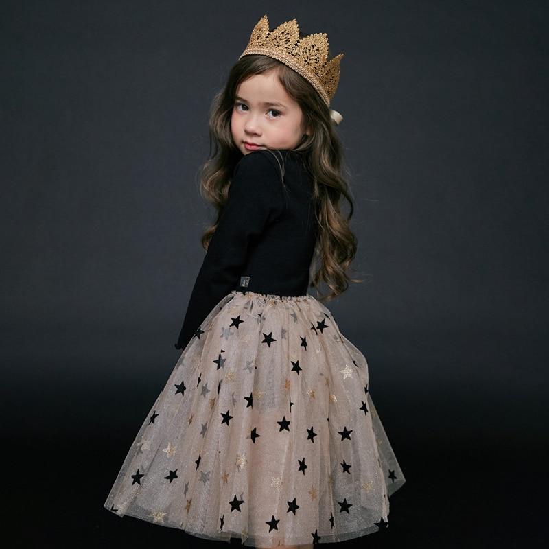 HTB1oIk3aQ5E3KVjSZFCq6zuzXXas Bear Leader Girls Dress 2019 New Autumn Casual Ruffles A-Line Striped Full Sleeve Kids Dress For 3T-7T