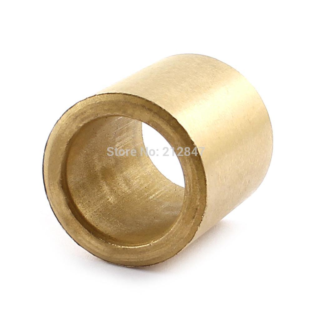 Self-lubricated Oil Impregnated Sintered Bronze Bushing Bearing Sleeve 20mm x 28mm x 30mm Shaft allen roth brinkley handsome oil rubbed bronze metal toothbrush holder