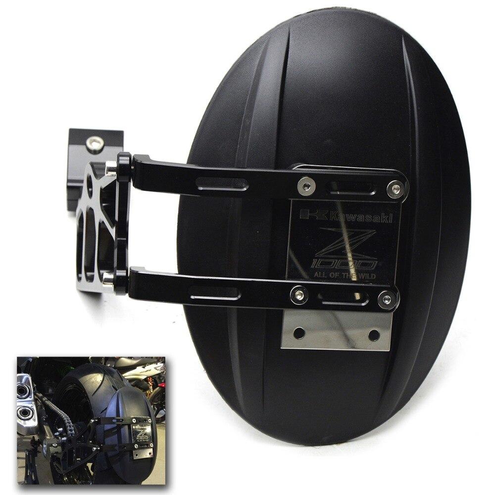 motorcycle accessories  cnc aluminum mudguard fender motorcycle rear fender for kawasaki z1000 z1000sx 10 11 12 13 14 15 16