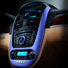 E-FOUR Styling Car Interior Mouldings Electroplate Film Metal Appreal Color Cutting Fit Decoration DIY Protect Stickers