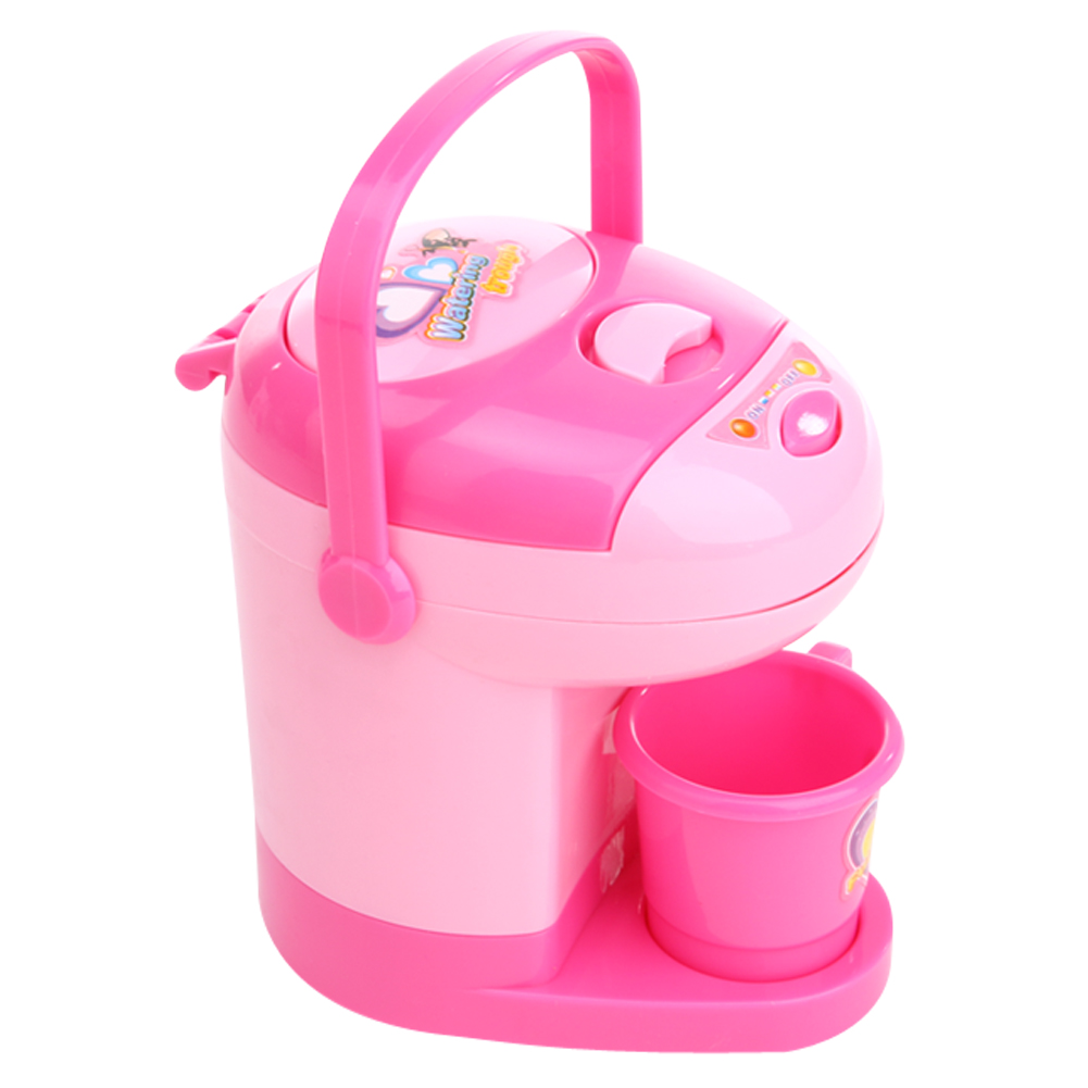 Children Mini Water Dispenser Toy Gift Baby Kids Pink Pretend Play Toy Children Mini Simulation Appliances Toy for Children