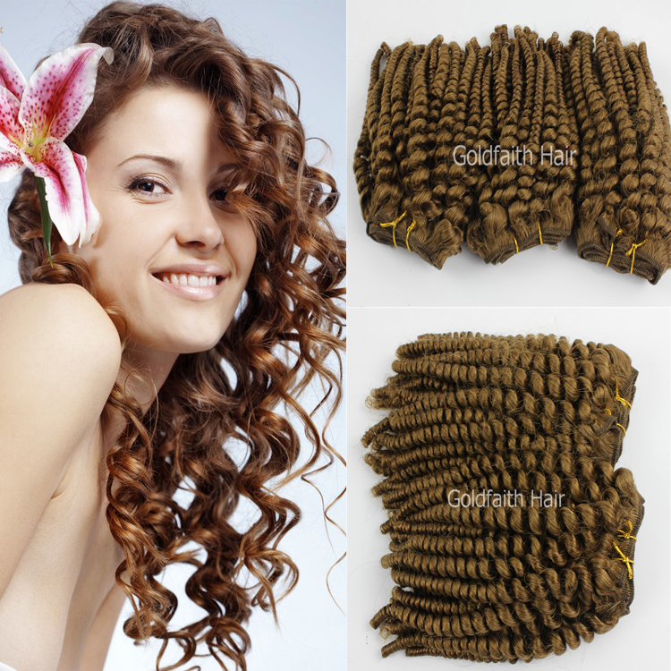 Brazilian Curly Virgin Hair Spiral Curl 3pcslot 100