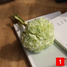 5PCS/Lot Artificial Flower Peonies Bouquet for Wedding Decor Home Decorative Hot Sale