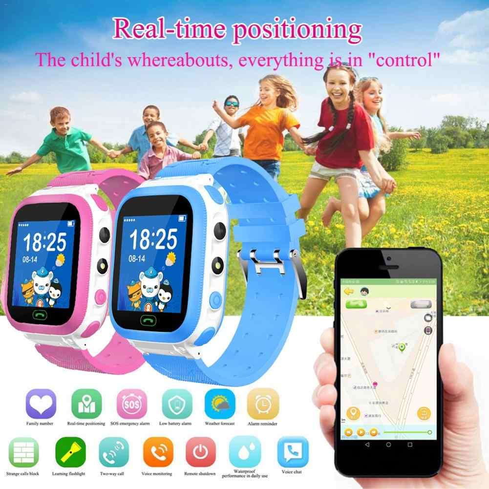 DS66 Children Smart Watch IP67 GPS Tracker Camera SOS Call Location Reminder Anti-Lost Kid Smart Watch Phone PK Q12 Q50 Q90 Q528