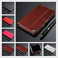 Fashion card holder PU leather case for Huawei Honor X2 wallet flip cover holster For Huawei MediaPad X2 cell phone cases