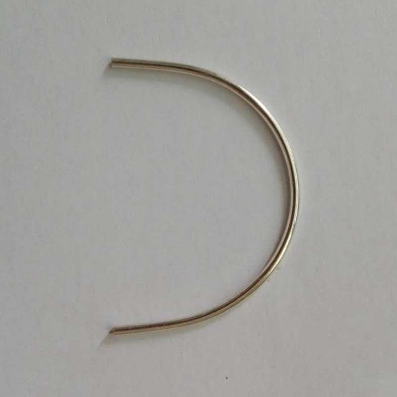 2.0 Mm,Authentic 999 Sterling Silver Wire DIY Accessories Round Wire Inlay Silver Inlaid Silver Wire