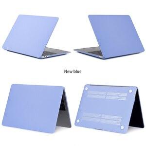 Image 5 - Funda de portátil dura para Apple Macbook Air 11 13,3 Pro Retina 13 15,4 para Macbook 12 pulgadas 2018 nuevo air Pro 13 con barra táctil + regalo