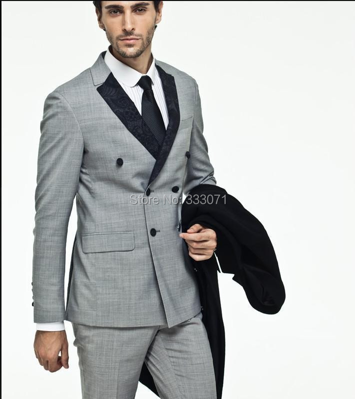 Popular 3 Piece Grey Suit-Buy Cheap 3 Piece Grey Suit lots from