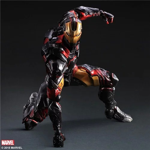 1pcs/set Avengers Generation Action Figures Hot Toys Super Hero Model Toy Gift PA change Play arts Marvel Iron Man 4pcs set deadpool action figures hot toys gift marvel super hero light doll super heroes pvc 18cm collection model