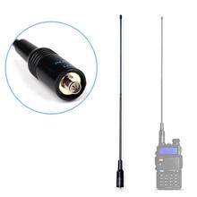 Мобильный комплект антенны UHF VHF Двухдиапазонный зажим для крепления кабеля для рации