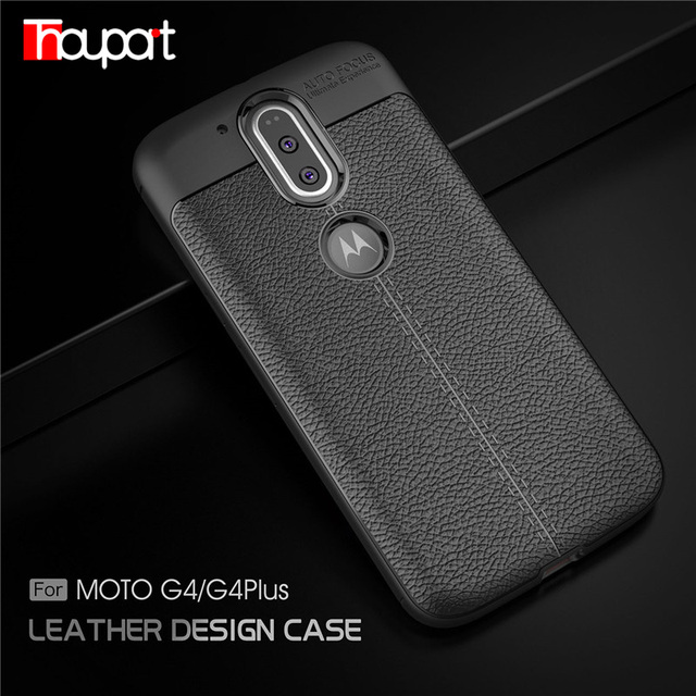 sale retailer 12826 9e0d7 US $3.55 22% OFF|Thouport For Motorola Moto G4 Plus Case Phone Cover Back  Shell Anti Slip ShockProof Soft Rubber Silicone Case For Moto G4 Covers-in  ...