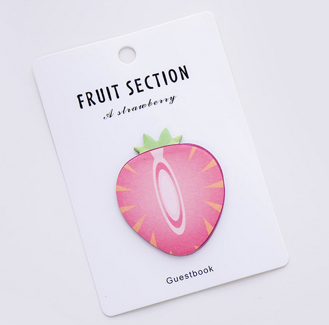 Sticky Fresh Fruit Themed Memo Pads