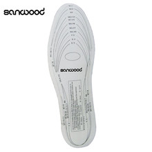 2016 2 Pcs Antibacterial Memory Foam Shoe Pad Insoles for Women Men Unisex Insoles One size 9IJM(China)