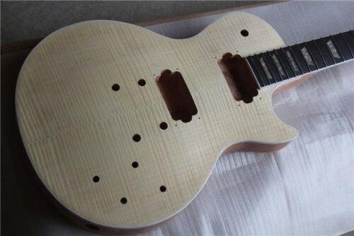 Unfinished Manche de la Guitare et corps pour LP Remplacement 22 Fret Touche palissandre