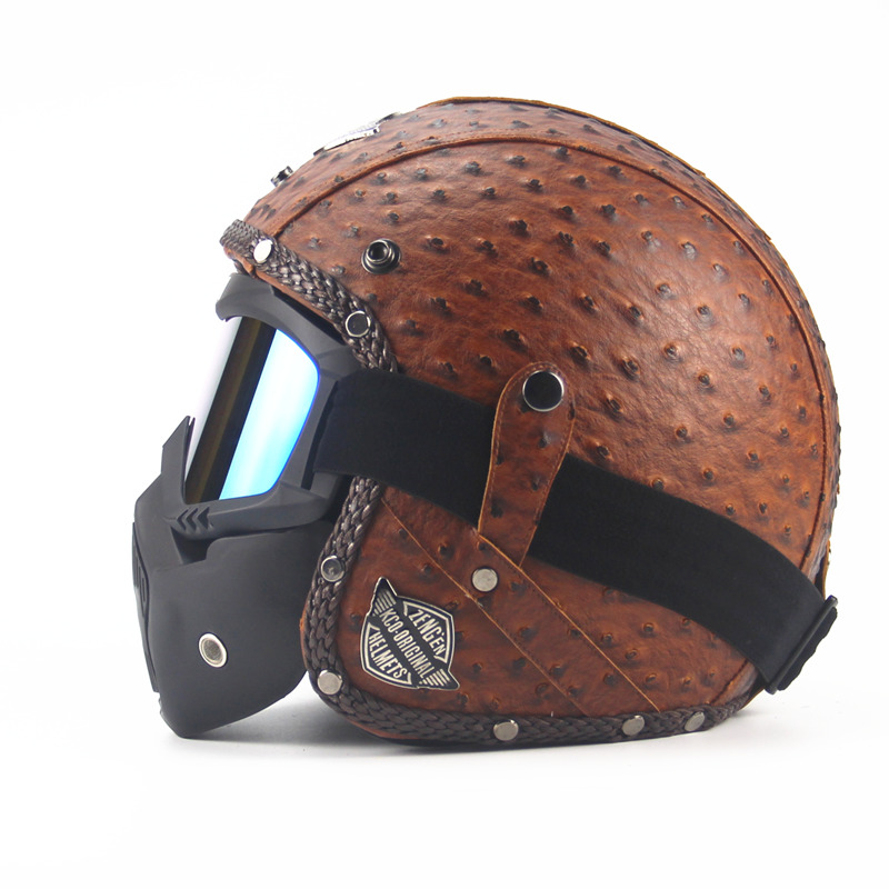 Woman Motorbike MOTO helmets Men's Motorcycle Vintage ...