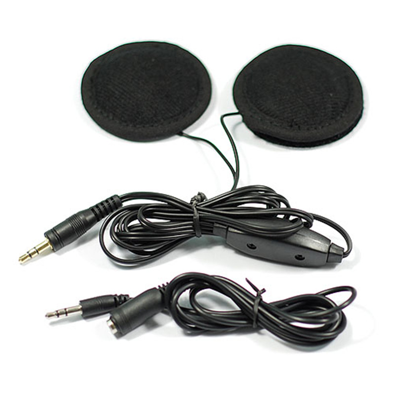 Hot Sell Motorcycle Helmet Speakers Stereo For MP3 CD IPod Radio