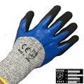 Nmsafety hot vender multi funcional à prova d' água & oilproof & cut resistente luva de segurança do trabalho