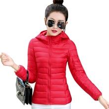 2017 jackets women autumn winter Fashion Casual Basic jacket Cotton coat female jacket parka Wadded Slim