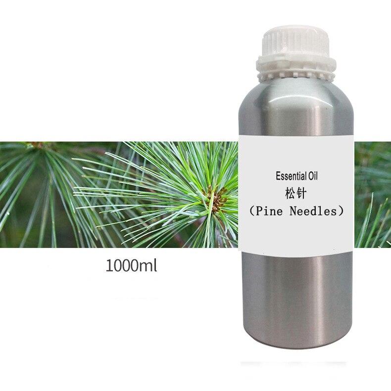 100% huile essentielle végétale Pure huile d'aiguille de pin 1000 ml antibactérien améliorer la laryngite bronchique