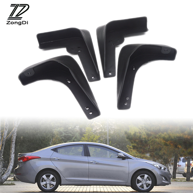 ZD Car Mudflaps Fit For 2011 2012 2013 Hyundai Sonata (Does NOT Fit The  Hybrid