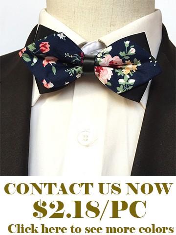Flower bow ties for men