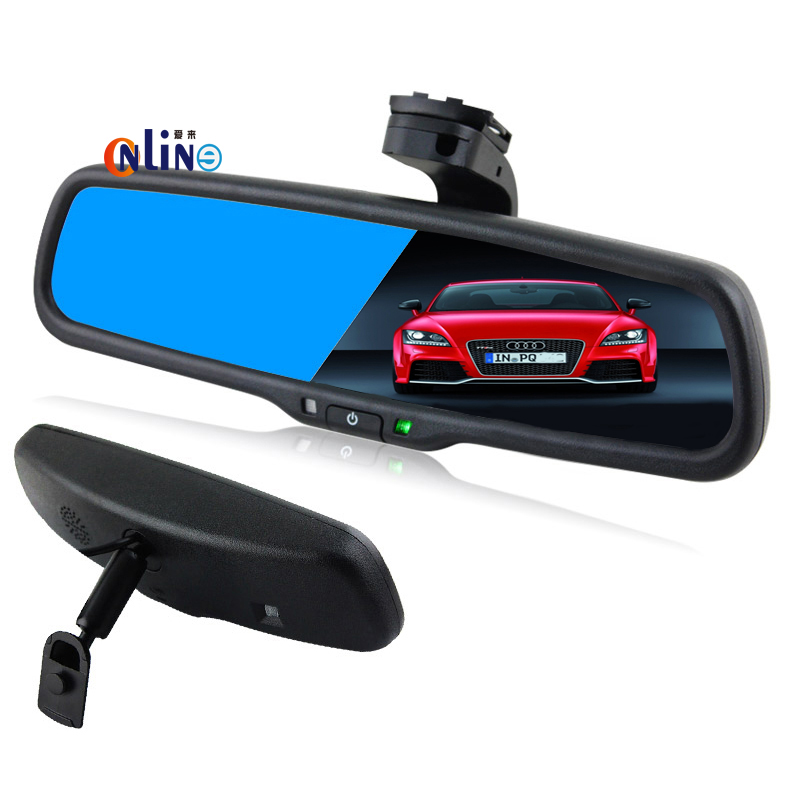 Clear View Special Bracket Car Electronic Auto Dimming Interior Rearview Mirror For Nissan Teana Livian X-Trail Sunny