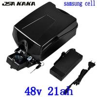 Bateria elétrica da bicicleta 48v 13ah 15ah 18ah 21ah 23ah bateria de lítio samsung celular 48v 500w 750w1000w ebike bateria 48v 20ah