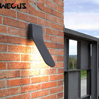 Outdoor wall lamp waterproof exterior balcony corridor street garden fence Wall Light sconce simple modern LED Outdoor Lamp