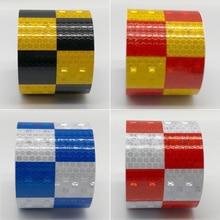 Fita adesiva refletiva para bicicleta 3m, adesivos para segurança na bicicleta, nas cores branca, vermelha, amarela e azul, acessórios para bicicleta