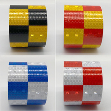 Reflective Stickers Styling For Automobiles Safe Material Safety Warning Tape