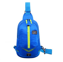 City Jogging Bag Waterproof Lightweight Backpack Outdoor Travel Hiking Camping Travel Fishing Climbing Fitness Sport Chest Bag