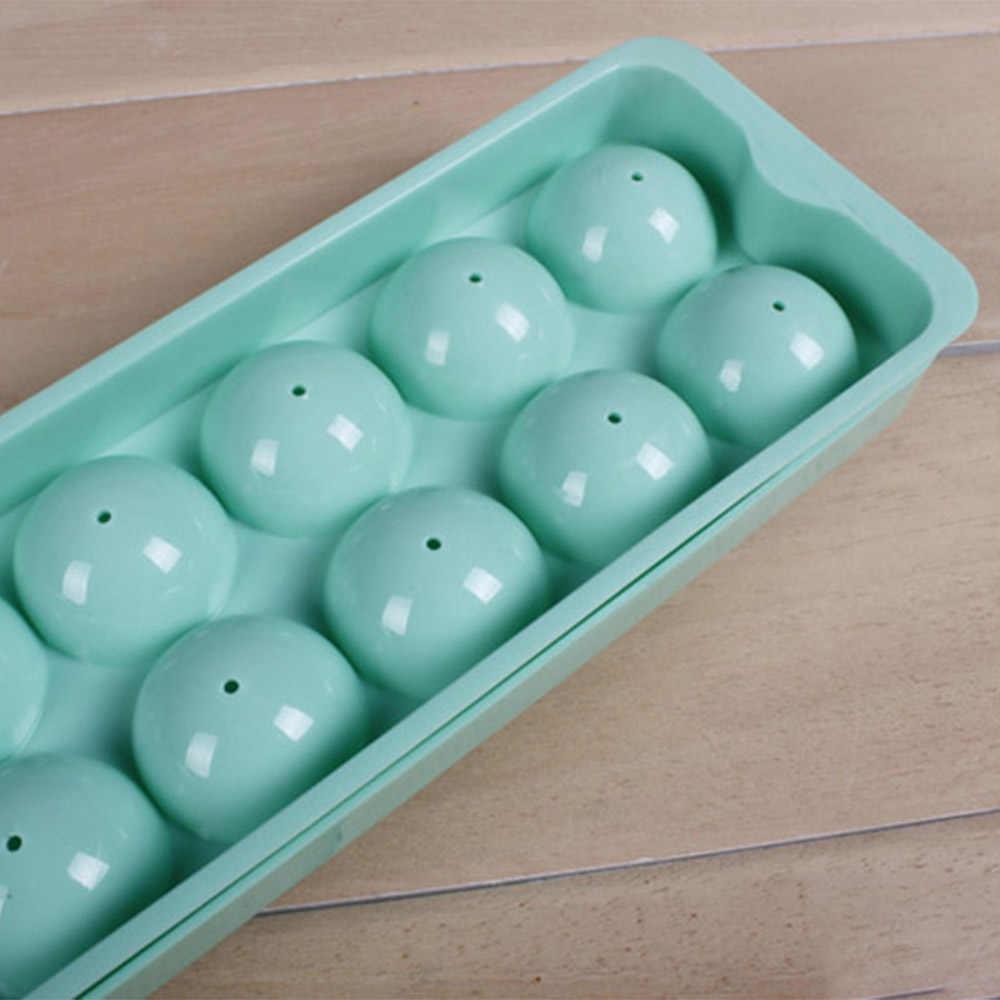 ランダムな色ボールアイス金型ホームバーパーティーカクテル使用球ラウンドボールアイスキューブメーカーキッチン DIY アイスクリームアイスキャンデー型