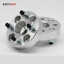 2 шт. PCD 4X100 центральное отверстие 54,1 мм колеса кованые прокладки Адаптер для peugeot 107 колеса фланец прокладка M12XP1.5 гайка