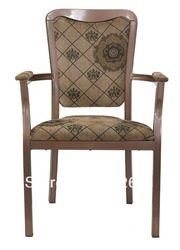 Wieżowych drewna ziarna aluminium bankiet fotel  heavy duty tkaniny o wysokiej odporności na ścieranie  wygodne|Krzesła hotelowe|Meble -