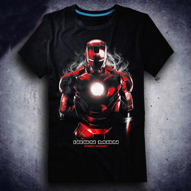 2018 New Film Avengers 3 Infinity War T-shirt Anime Iron Man loki T-shirts Fashion Cartoon Cosplay Tops Tees