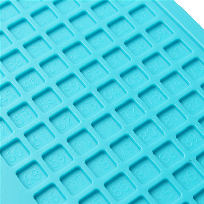340 x 230mm Heat Insulation Pad Silicone Pad Desk Mat With Magnetic Section For Soldering Repair Station Maintenance Platform
