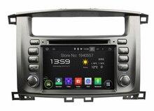 1024*600 Quad Core 2 din 7″ Android 5.1 Car dvd player for toyota Lander Cruiser 100 Car Radio GPS 3G WIFI Bluetooth TV USB DVR