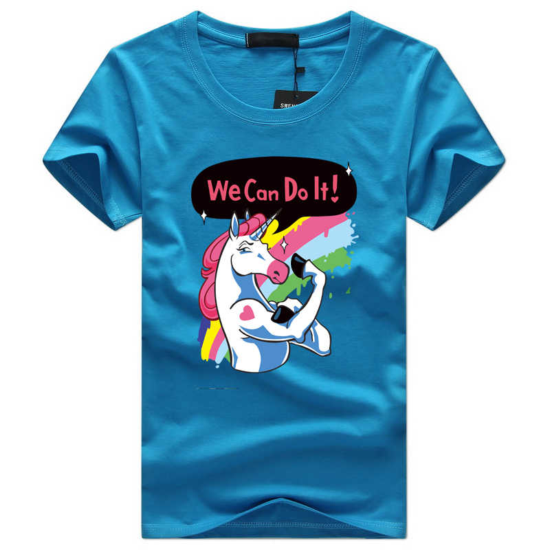 9df673f2298a Detail Feedback Questions about 2018 New Unicorn t shirt Men Short ...