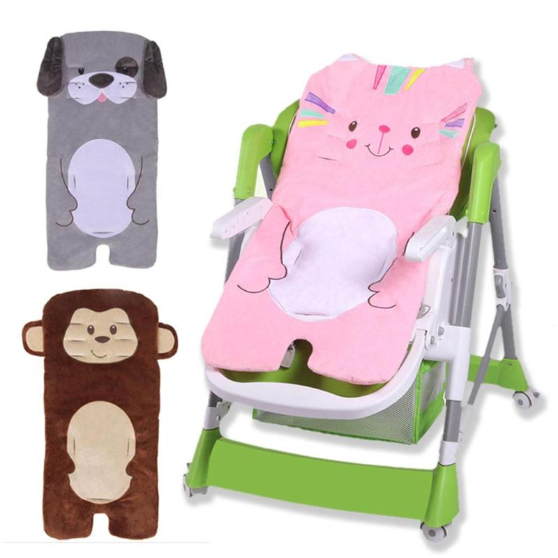 Soft Baby stroller cushion car seat accessories Carriage thermal pad liner Pad Cushion Stroller Accessory Pushchair Mattress R4