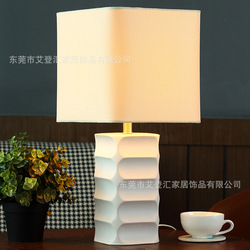Tuda bezpłatna wysyłka biały ceramiczna lampa stołowa europejski styl tabeli lampa do sypialni stolik nocny lampa stół do pokoju dziennego lampa