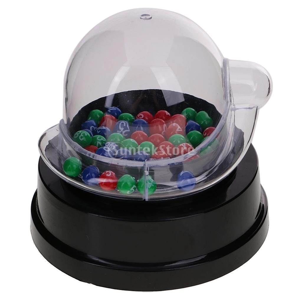 Electric Lucky Number Picking Machine HighQuality Mini Electric Lucky Number Picking Machine For Lottery Bingo Games