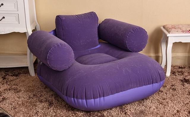 aliexpress : mode pvc beflockung aufblasbare sitzsack einzel, Wohnzimmer