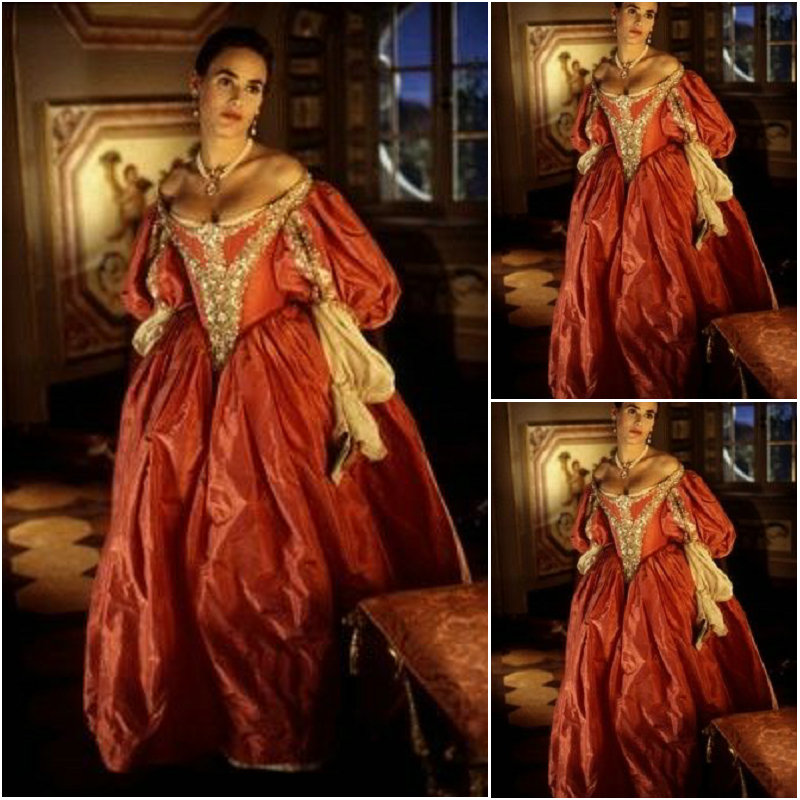 19 Century  Civil War Southern Belle Gown Evening Dress/Victorian Lolita Dresses/scarlett Dress US6-26 SC-868