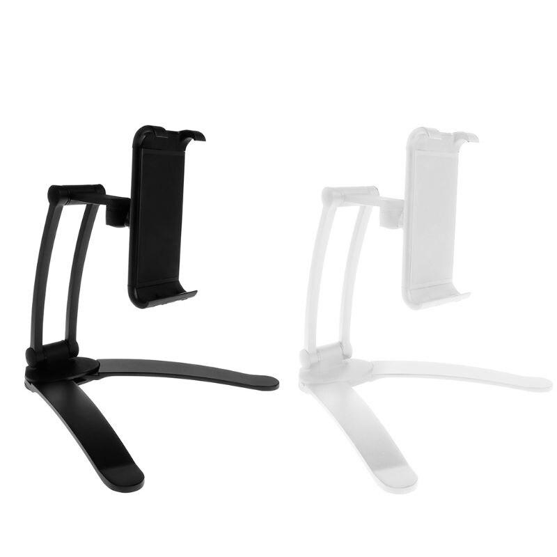 2-in-1 Telefon Tablet Halter Flodable Platte Desktop Küche Unter-schrank Montage Basis Wand Für Iphone Ipad Samsung