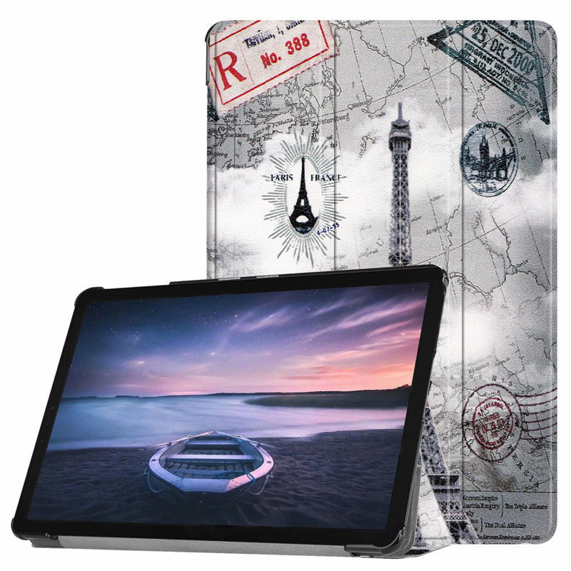 For Samsung Galaxy Tab S4 2018 10.5 Case Magnetic Protective Smart Stand Cover For Galaxy S4 10.5 SM-T830 T835 Tablet Fundacase