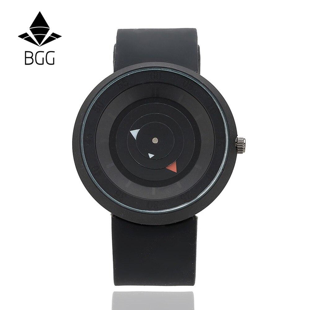 online get cheap futuristic watches for men aliexpress com new design creative watches futuristic men women black waterproof quartz watch bgg brand fashion casual unique