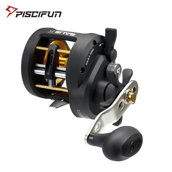 Piscifun Salis X Trolling Reel Up To 17KG Drag 6.2:1 Gear Ratio 7 Bearings 3000 5000 Saltwater Inshore Baitcasting Fishing Reel