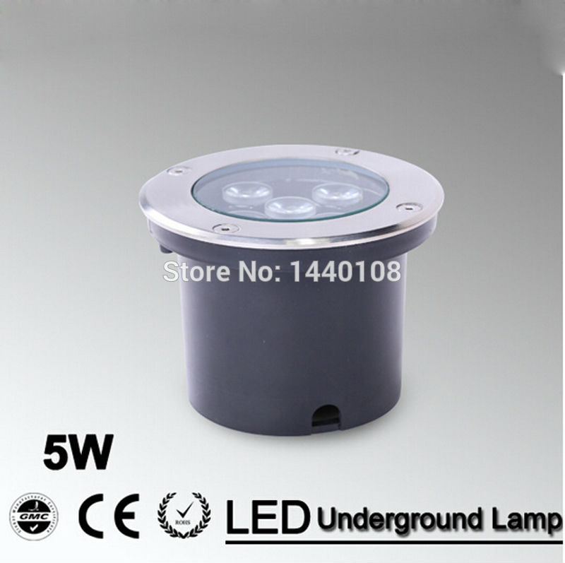 5W LED underground lamp LED Llight Outdoor Buried lamp IP65 AC85~265V led stair step light recessed led floor lights 10pcs lot 50w cob underground floor recessed lamp foot lamp led underground lamps buried ground12v 24v 85 265v buried lights